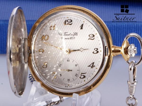 Tissot Taschenuhr Fils Depuis 1853 Eta 6498 Handaufzug top