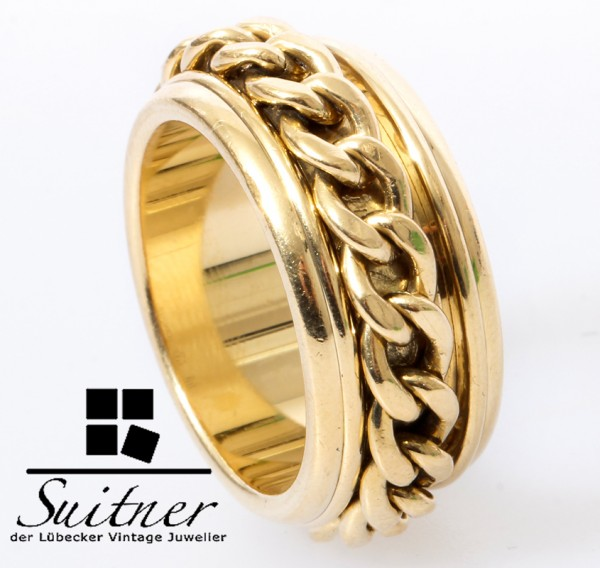 seltener Piaget Possession Chain Ring Kette 750 Gold Gr. 56