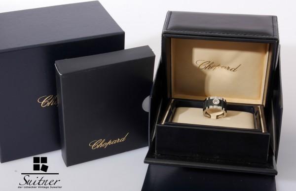 Chopard Happy Diamonds Ring Brillant Gr. 52,5 mit Box und Set Mille Miglia