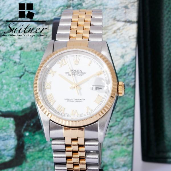 Rolex Datejust Ref 16233 BJ 2000 Fullset Jubilée