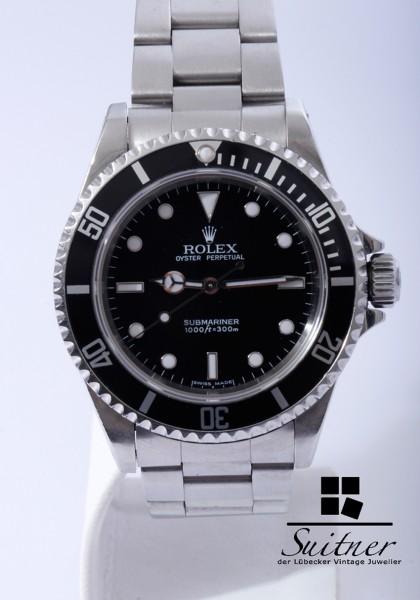 Rolex Submariner No Date 14060m 2 Liner Stahl Klassiker 14060 2006