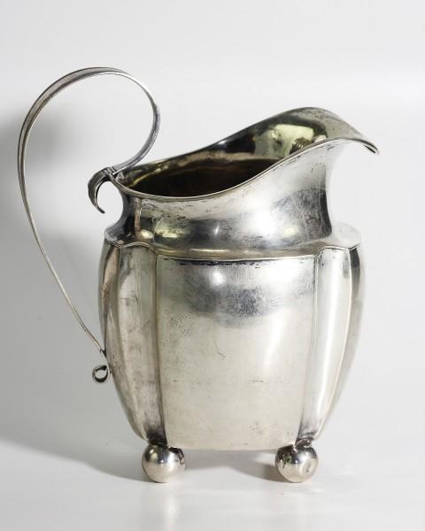 antikes Silber mit Städemarke