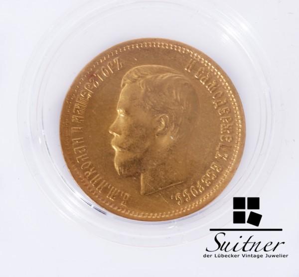 Russland 1899 10 Rubel Zar Nikolaus SS - VZ Top Erhaltung selten