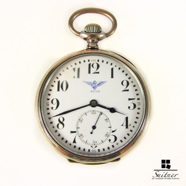 seltene Josef Müller Eisenbahner Uhr Dienstuhr Reichsbahn