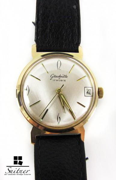 original Glashütte Vintage Uhr sixties classic Kal. 69.1 Handaufzug