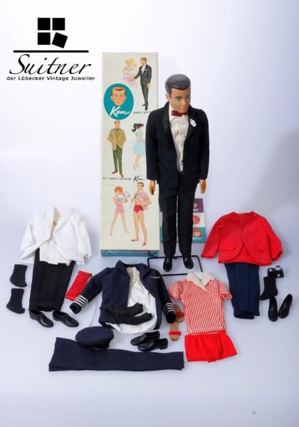 Vintage - Ken-Puppe in Originalbox mit Zubehör aus den 1960er Jahren