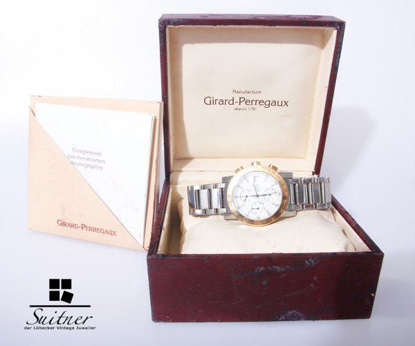 Girard Perregaux Choreograph GP 7000 Stahl/Gold Automatik Full Set