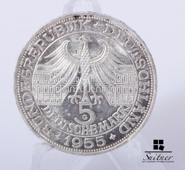 5 DM Ludwig Wilhelm Markgraf von Baden Prägestätte G / VZ
