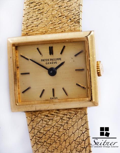 Vintage Patek Philippe 3362 Damen Uhr aus 750 Gold um 1970 - selten