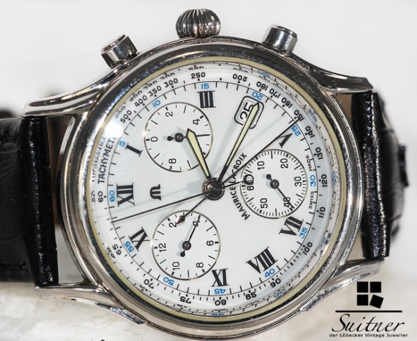 Maurice Lacroix Tomorrow´s Classics Chronograph mit Schleppzeiger