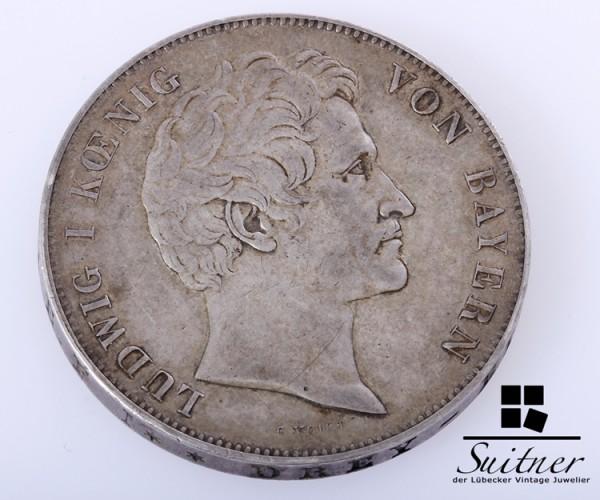 Bayern 1841 Geschichtsdoppelthaler ss-vz Doppelthaler sehr selten