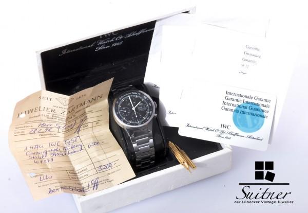 IWC Chronograph GST Ref. 3707 mit Box und Papieren Day Date