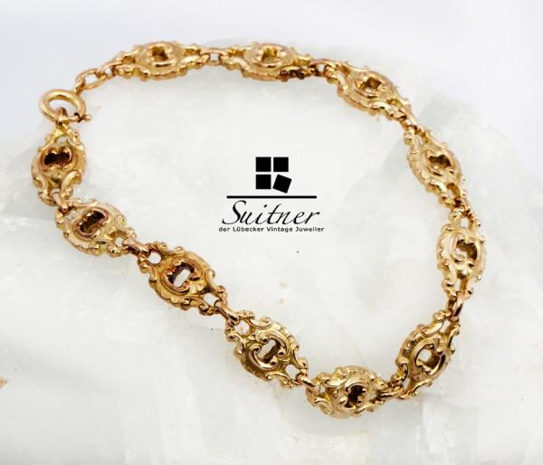 Vintage Armband im antiken Barock Stil aus Gold - ein echtes Statement