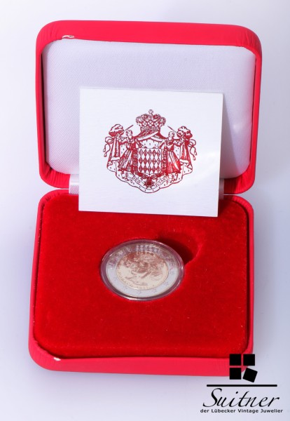 Monaco 2,- Euro 2011 mit Zertifikat Box sehr selten