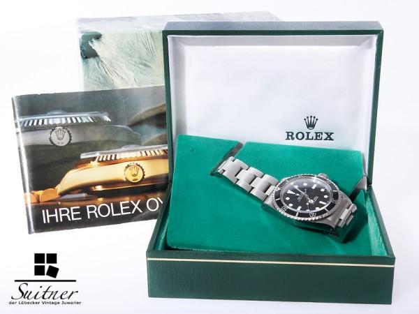 Rolex Submariner Vintage BJ 1966/67 Ref. 5513 Box Maxi MK1 Dial Box