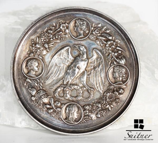 Medaille Preis fuer Leistungen im Gartenbau Silber Preussen von Loos - RAR Orden