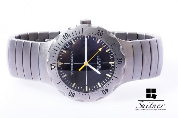 Porsche Design Titan automatic Uhr Ref.6501.10 Full Set p6000 Diver