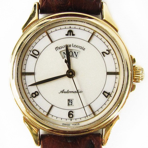 Maurice Lacroix Pontos Lady Automatic 30mm Gold Day-Date