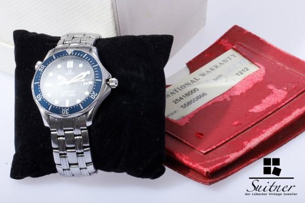 Omega Seamaster Professional blau 300m Ref. 25418000 Full Set