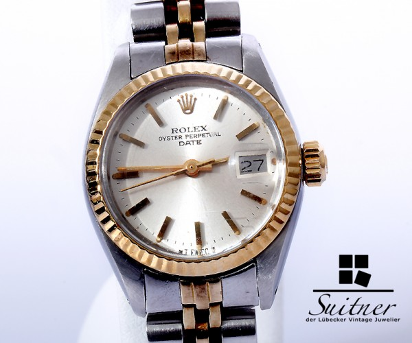 Rolex Lady Date Stahl Gold Ref. 6917 Jahrgang 1978