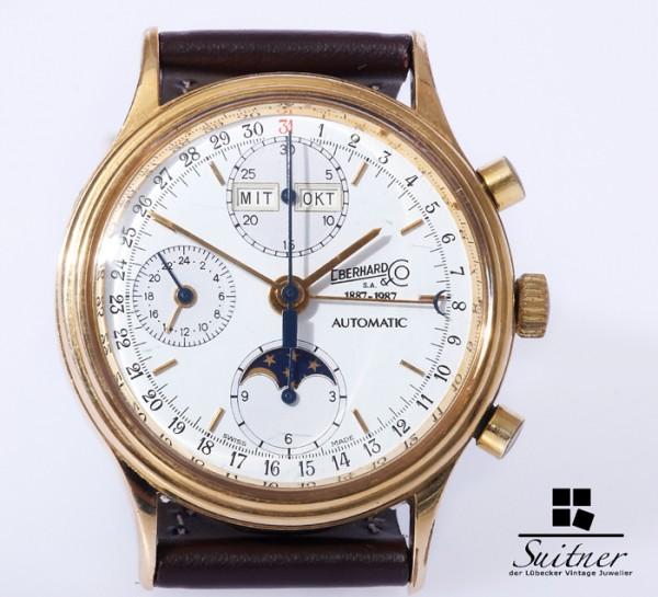 Eberhard & Co Edition d´anniversaire limitée Automatik Chronograph 337 von 699