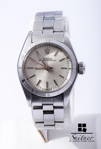 Rolex Oyster Ref. 6723 Automatik Stahl No Date Bj 1976 seltene Uhr