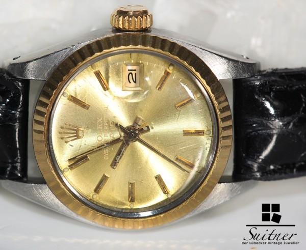 Rolex Lady Datejust Stahl Gold von 1983 Ref. 6917 Automatik Vintage