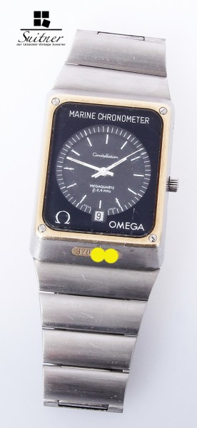 Omega Constellation Marine Chronometer MegaQuarz vintage