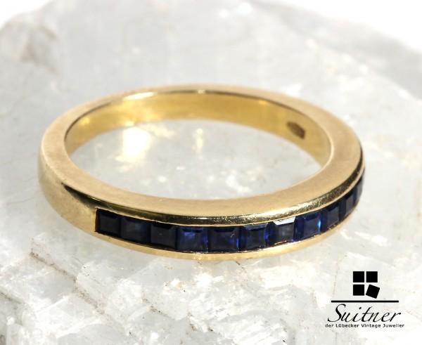 Memorie Ring mit Saphiren