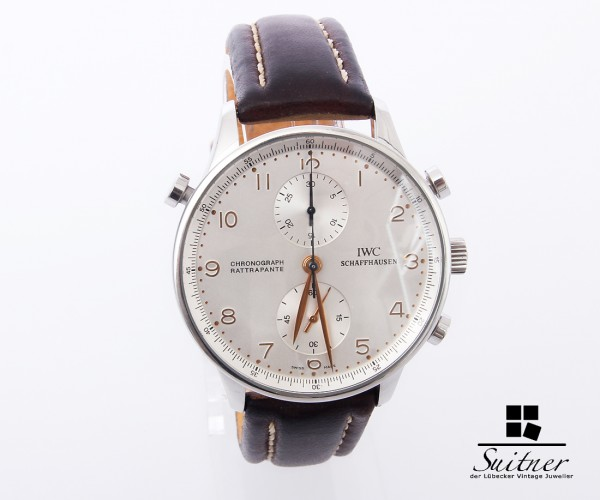 IWC Portugieser Chronograph Rattrapante Ref. 3712 Luxus Full Set Box