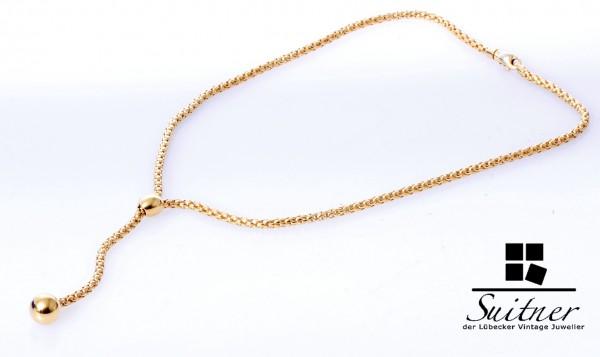 FOPE Y- Collier aus 750 Gold Luxus Kette der Superlative neuwertig