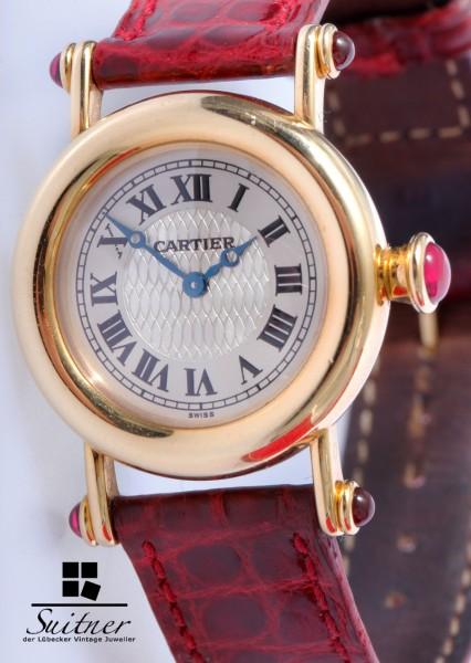 Cartier Diabolo 150 Jahre Limited 750 Gold und Rubine FullSet