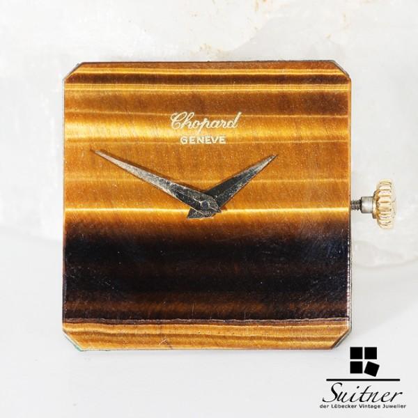 Chopard Handaufzug Uhrwerk Kaliber 2512 Zifferblatt Tigerauge SELTEN