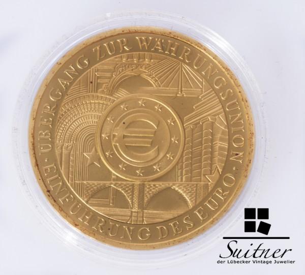 200 Euro BRD 2002 A Gold Währungsunion 1 Unze Feingold selten