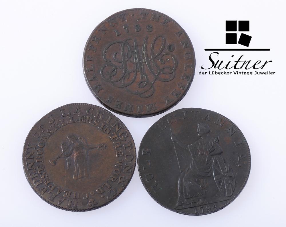 Alte Englische Münze