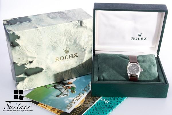 Rolex Oyster Perpetual Lady Damenuhr Stahl Automatik Ref. 67180 defekt