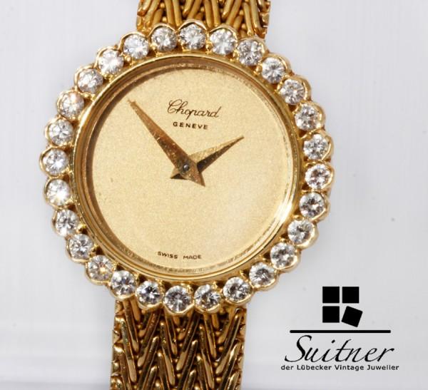 Chopard Uhr mit Brillanten aus massiv 750 Gold Handaufzug wie neu Luxus