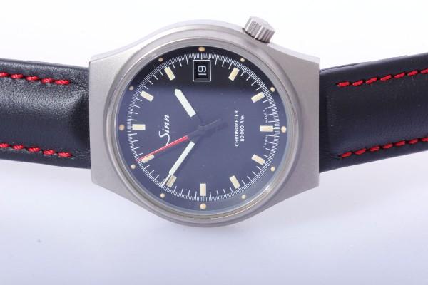 Sinn Chronometer 244 Ti Reintitan Magnetfeld Antimagnetisch sehr seltene Uhr