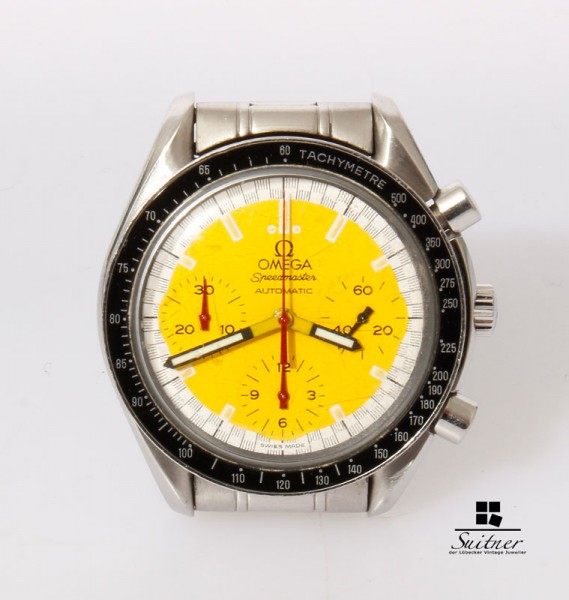 Omega Speedmaster Chronograph Automatik Michael Schumacher Moonwatch