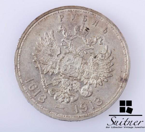 Russland Rubel 1613 - 1913 SS / VZ 300 Jahre Romanov Dynastie