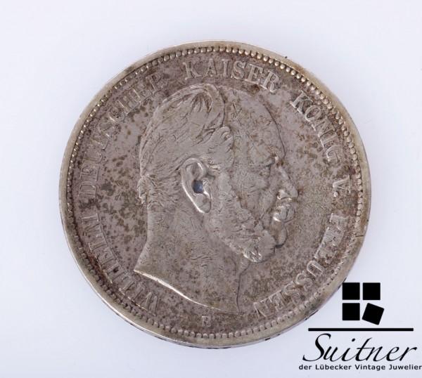 Preussen 1875 B 5 Mark SS Wilhelm Deutscher Kaiser