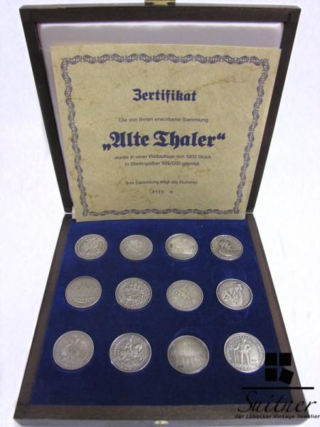 Sammlung Alte Thaler 925 Silber limitiert