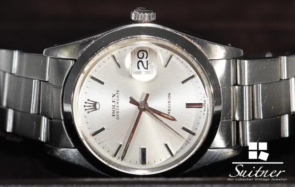 Rolex Oysterdate Stahl 6694