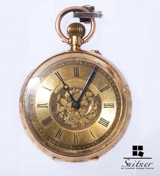 Frattorini & Sons Bradford Taschenuhr 750 18 kt Gold