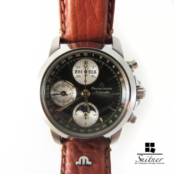 Maurice Lacroix Croneo Chronograph Triple Date Ref. 02736 Mond