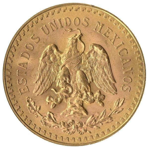 50 Pesos Gold - Anlagegold
