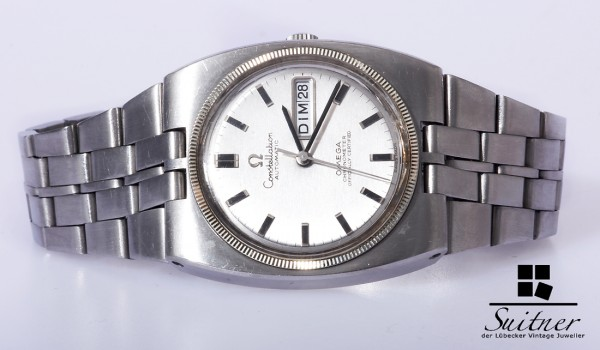 70er Jahre Vintage Omega Constellation Automatic Day Date Chronometer - selten