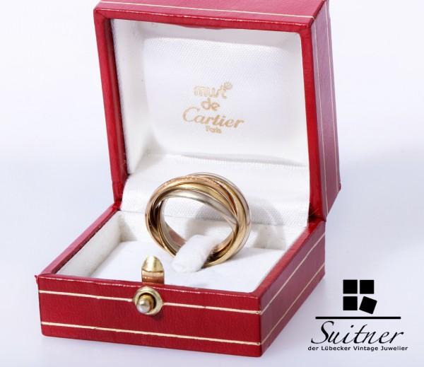 Cartier Quintouple Ring 750 Gold Gr. 55 Trinity 5 Fach 18kt Original Gr. 55