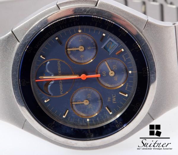 IWC Porsche Design Titan Chronograph Mondphase Full Set 3748 3742