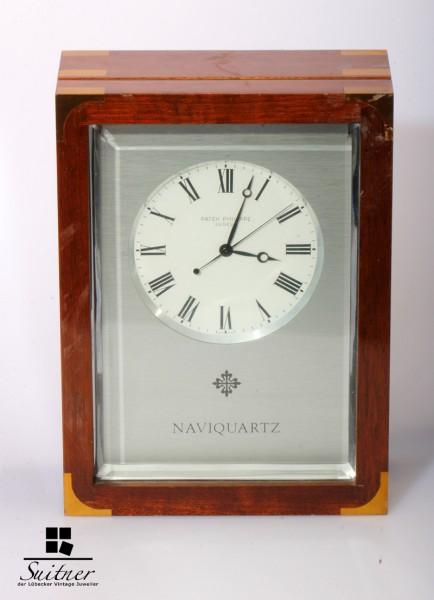 Patek Philippe Naviquartz E1200 Standuhr Chronometer sehr selten